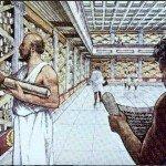 Древняя Александрийская библиотека