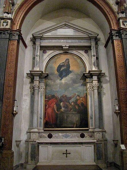 Вознесение Девы Марии Тициана (Duomo di Verona)