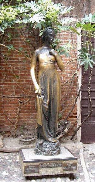 Скульптура Джульетты