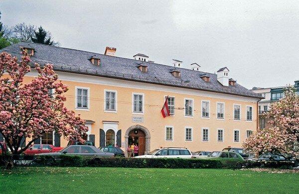 Родина Моцарта город Зальцбург. Дом семьи Моцарта