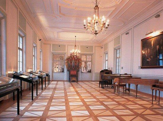 Родина Моцарта город Зальцбург. Дом семьи Моцарт