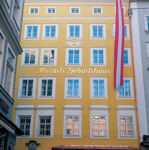 Родина Моцарта город Зальцбург