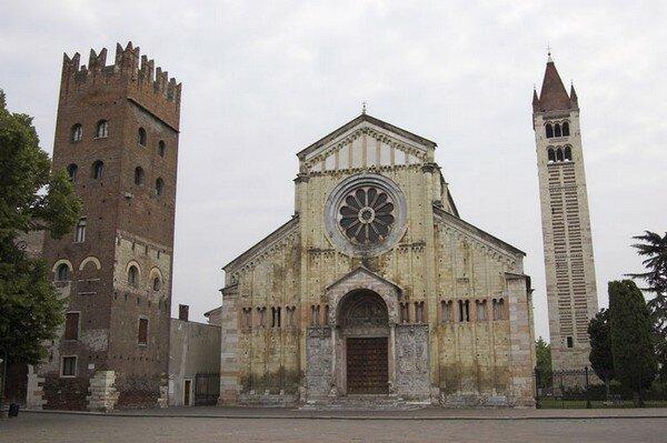 Сан Дзено Маджоре (Basilica di San Zeno), Верона Италия