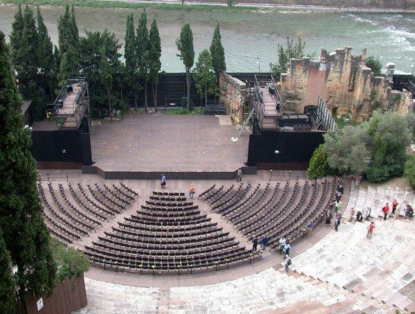 Римский Театр, Верона Италия
