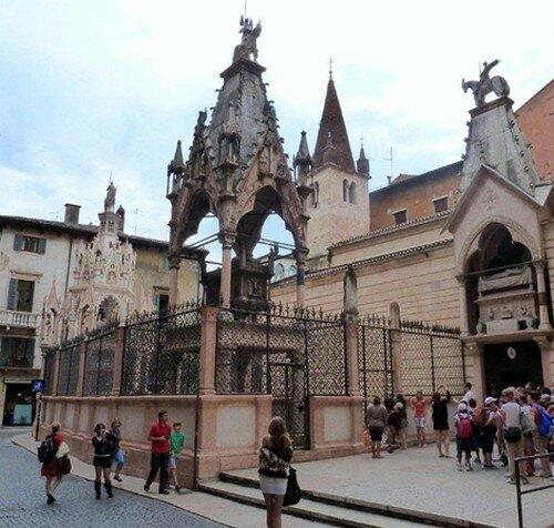 Санта Мария Антика, Верона Италия