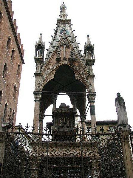 Арка Мастино II Santa Maria Antica, Верона