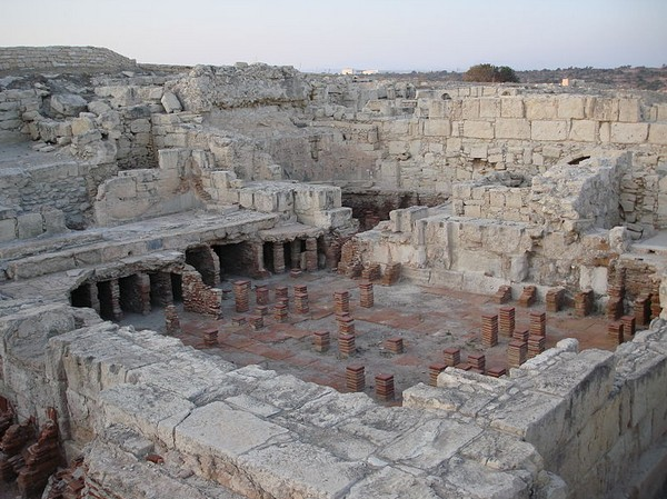 Древнегреческий амфитеатр, Курион Кипр