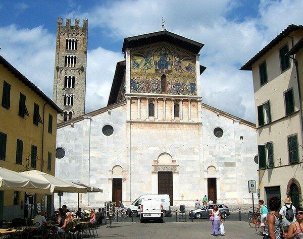 Базилика Св. Фредиано, Лукка Италия