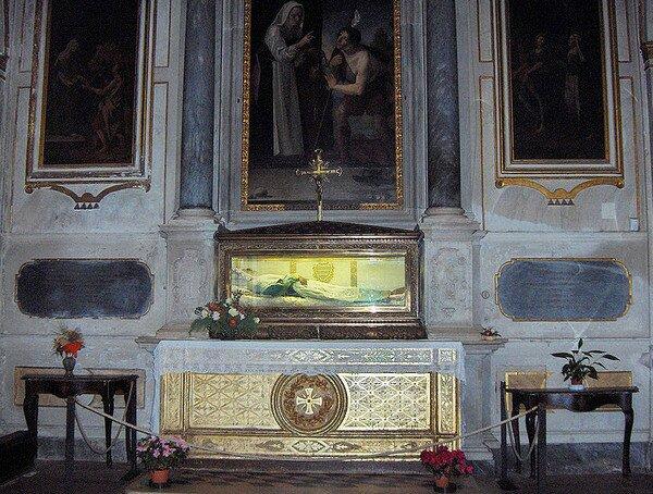 Гробница Святой Зиты, Лукка Италия