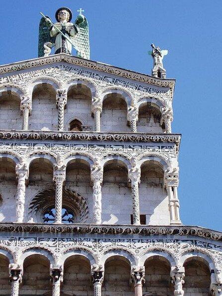 Церковь Сан Микеле ин Форо, Лукка Италия