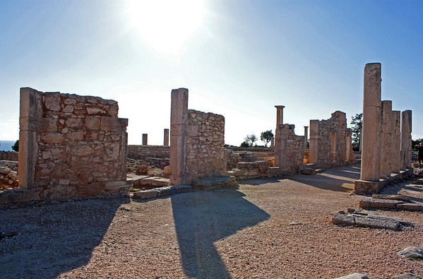 Храм Хилатеса (Апполона), Курион Кипр