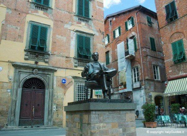 Дом Пуччини, Лукка Италия