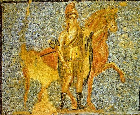 Мозаики Дома Орфея, Пафос