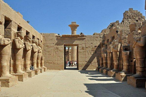 Храм Рамзеса III в Карнаке