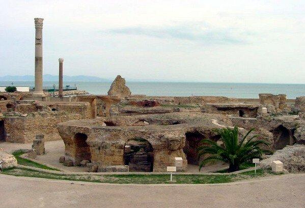 Древний Карфаген,Тунис