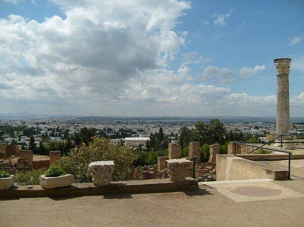 Древний Карфаген, Тунис