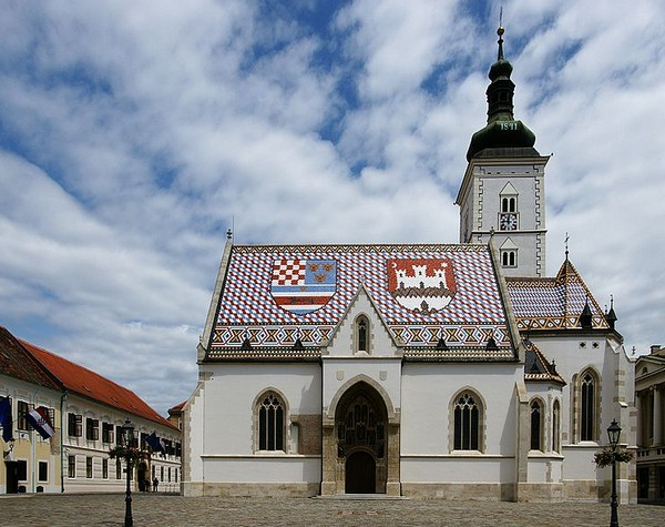 Церковь Святого Марка Загреб, Хорватия