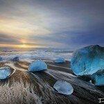 Ледниковое озеро Ёкюльсаурлоун: призрачная процессия айсбергов в царстве Ее Снежного Величества