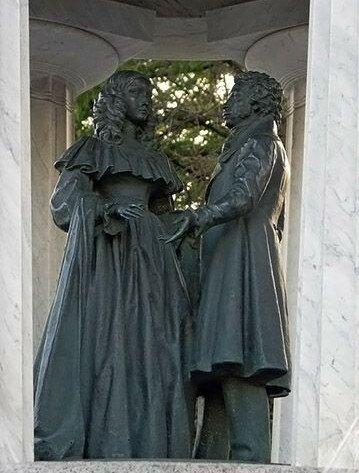 Фонтан-ротонда «Наталья и Александр» у Никитских Ворот