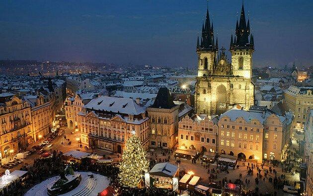 Рождество и Новый Год в Чехии