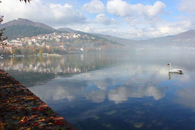 Озеро Орестиада Кастория